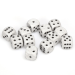 Speckled 16mm D6 Arctic Camo