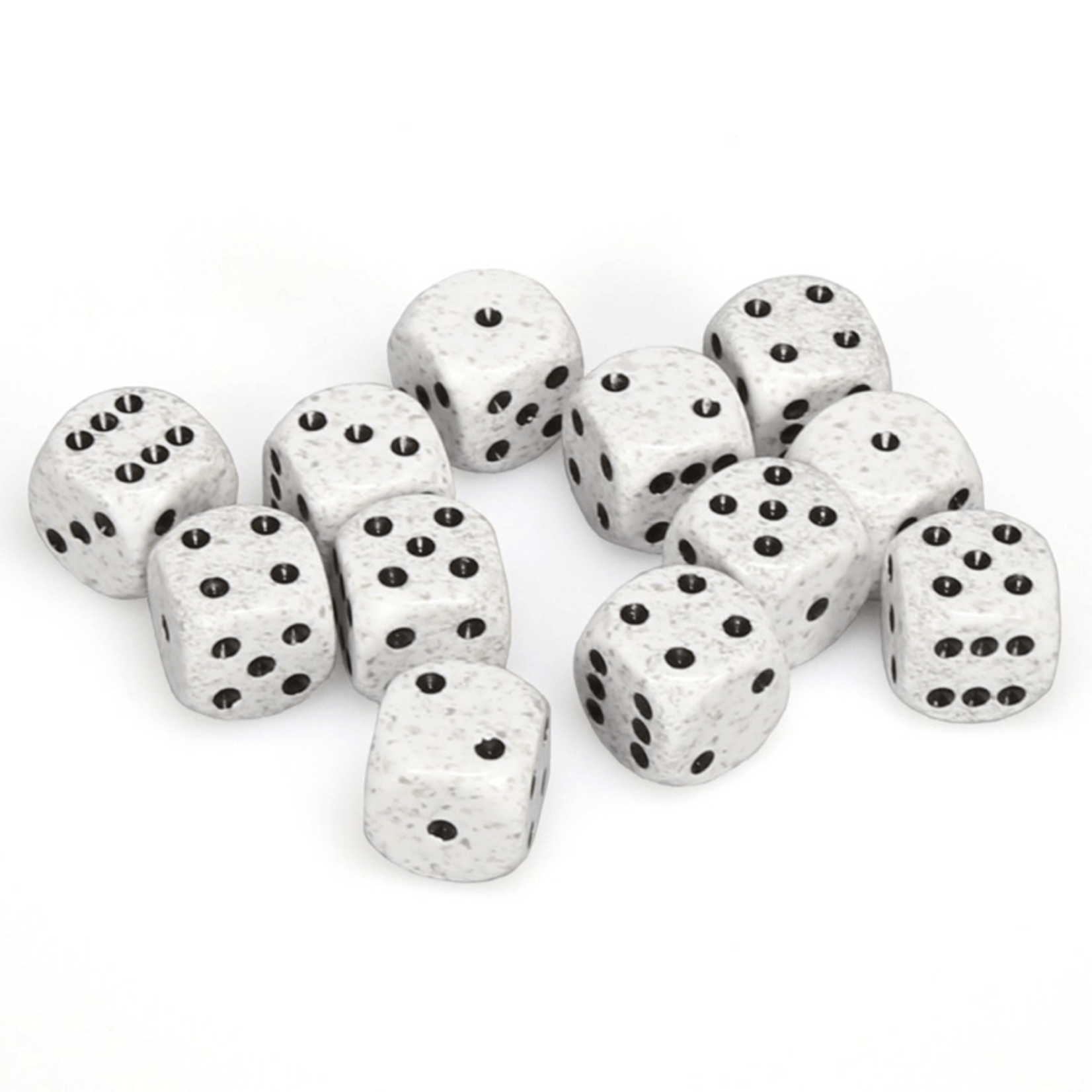 25711 Speckled 16mm D6 Arctic Camo