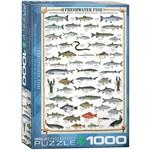 EuroGraphics Puzzles Freshwater Fish 1000pc