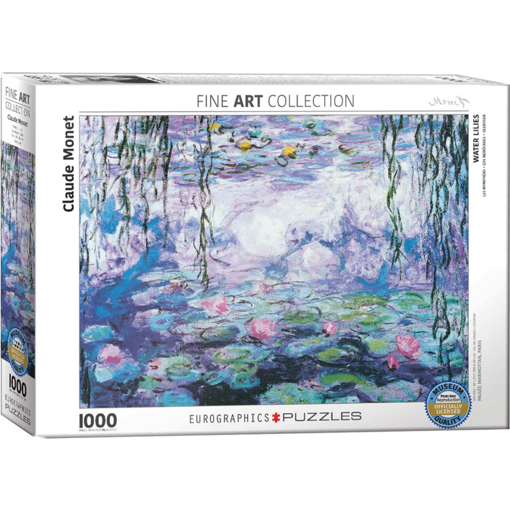 EuroGraphics Puzzles Waterlillies, Monet 1000pc