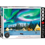 EuroGraphics Puzzles Northern Lights 1000pc