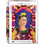 EuroGraphics Puzzles Frida Kahlo: Self Portrait The Frame 1000pc