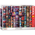 EuroGraphics Puzzles Canadian Totem Poles 1000pc