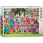 EuroGraphics Puzzles Home Tweet Home Bird Houses 1000pc