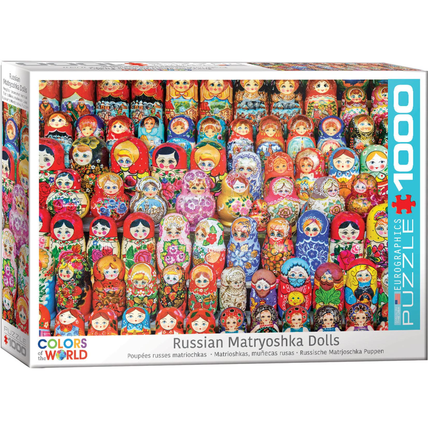 EuroGraphics Puzzles Russian Matryoshka Dolls 1000pc