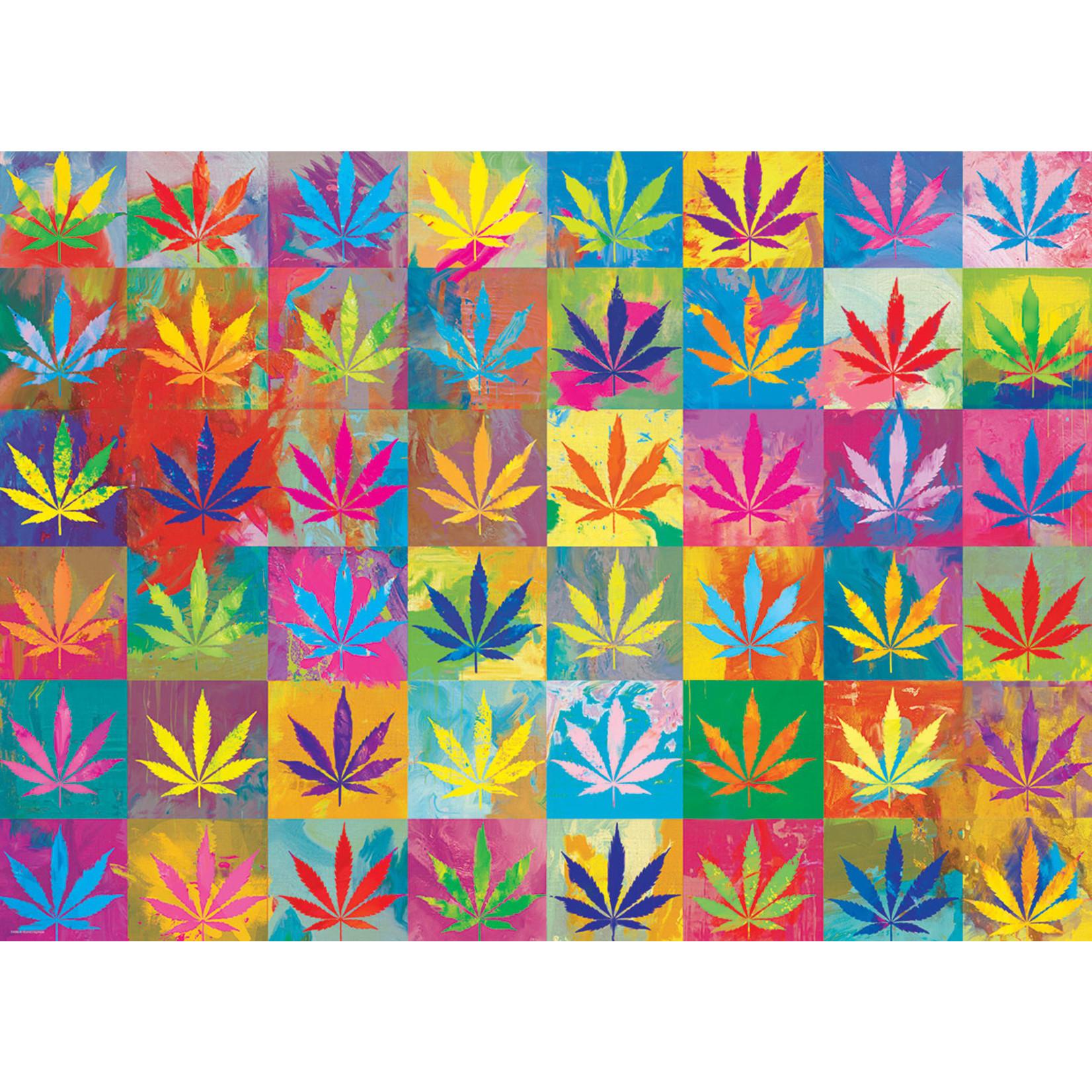 EuroGraphics Puzzles Weed Wonderland 1000pc