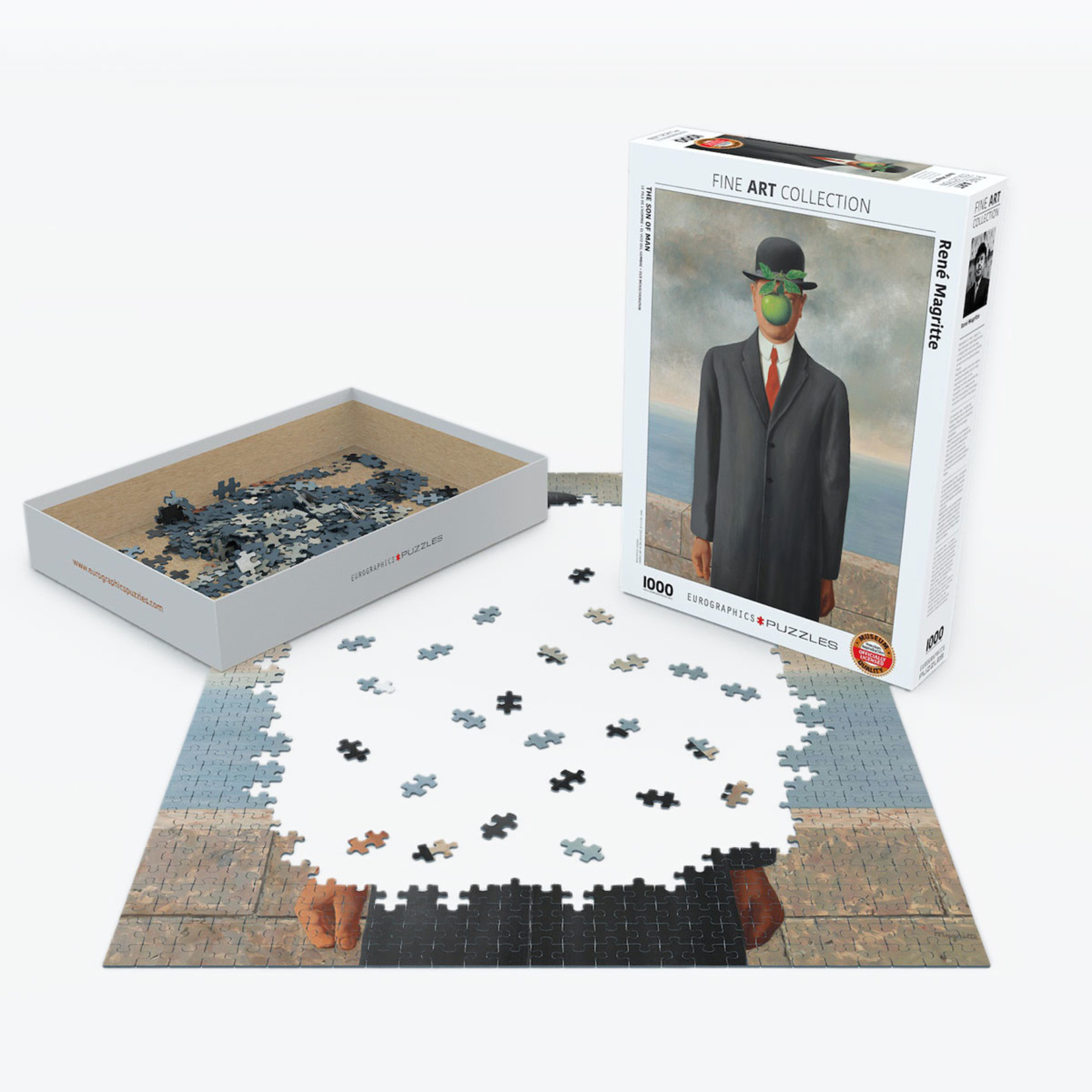EuroGraphics Puzzles Son of Man 1000pc