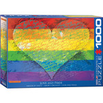 EuroGraphics Puzzles Love & Pride! 1000pc