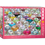 EuroGraphics Puzzles Tea Cup Collection 1000pc