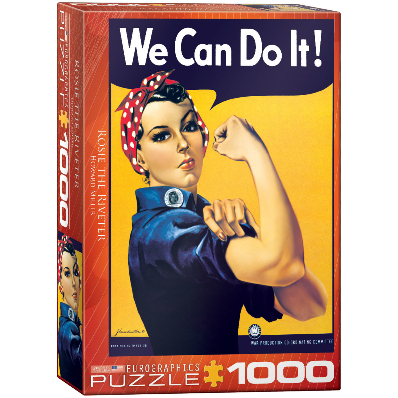 EuroGraphics Puzzles Rosie the Riveter 1000pc