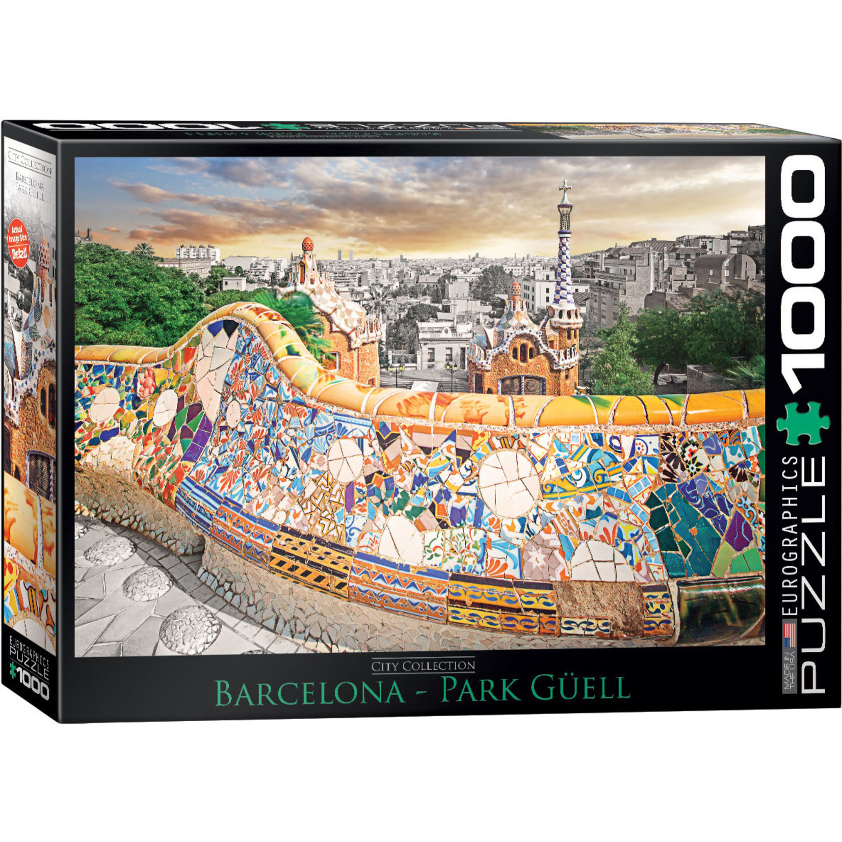 EuroGraphics Puzzles Barcelona Park 1000pc