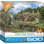 EuroGraphics Puzzles Cobble Walk Cottage 500pc
