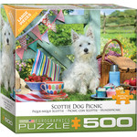 EuroGraphics Puzzles Scottie Dog Picnic 500pc