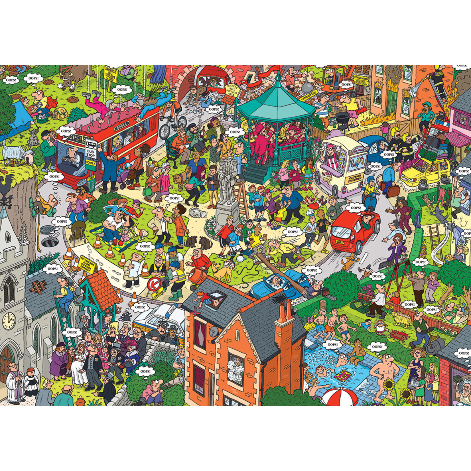 EuroGraphics Puzzles What Could go Wrong? 500pc