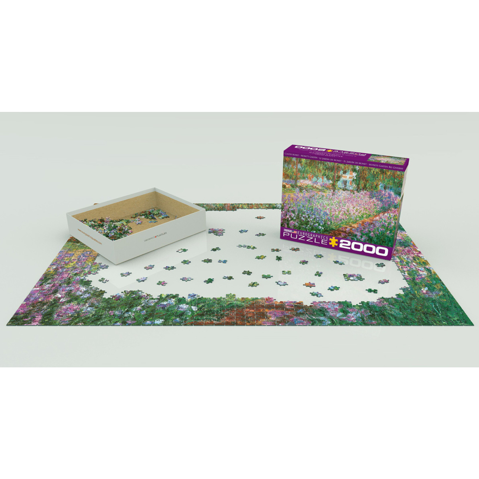 EuroGraphics Puzzles Monet's Garden 2000pc