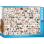 EuroGraphics Puzzles The World of Dogs 2000pc