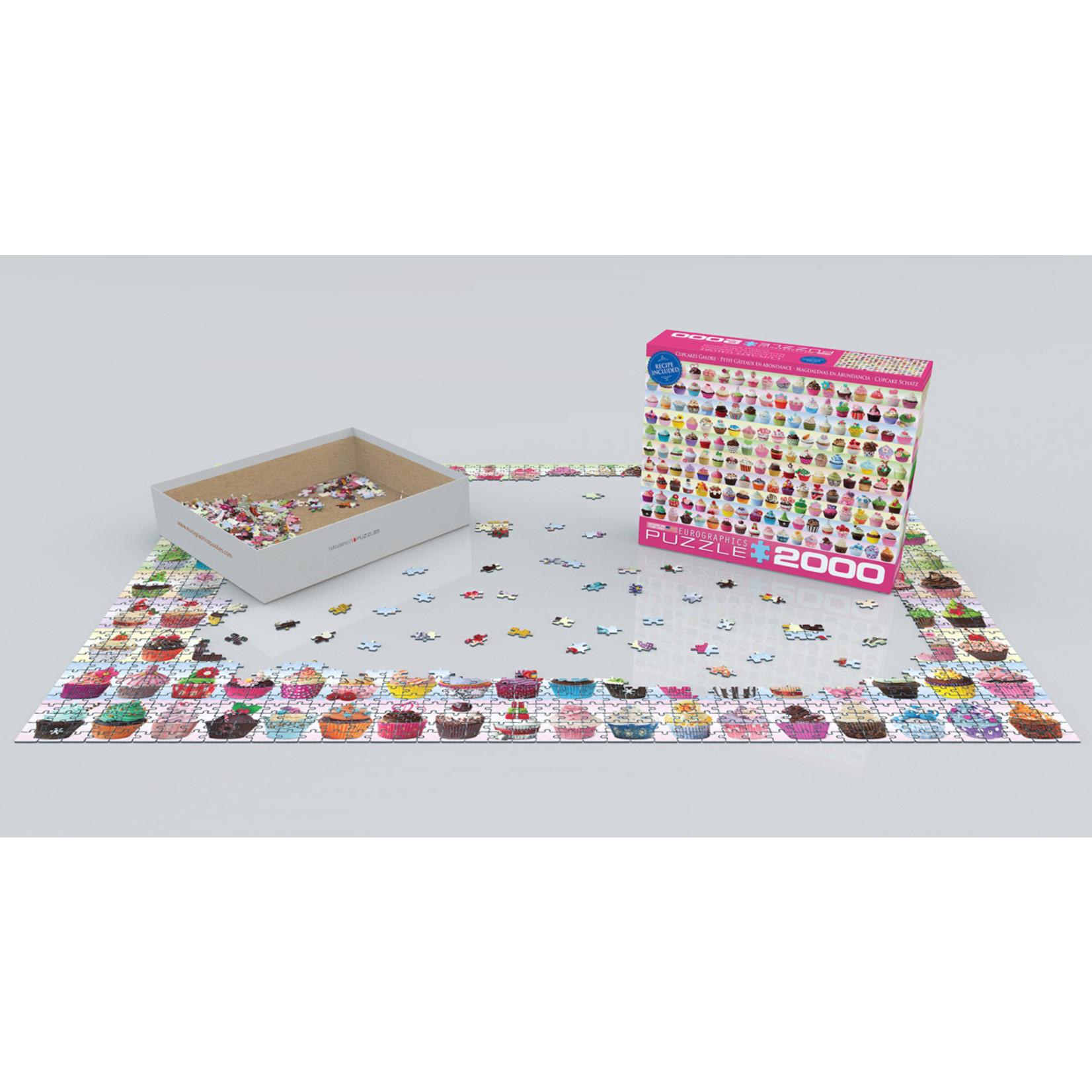 EuroGraphics Puzzles Cupcakes Galore 2000pc
