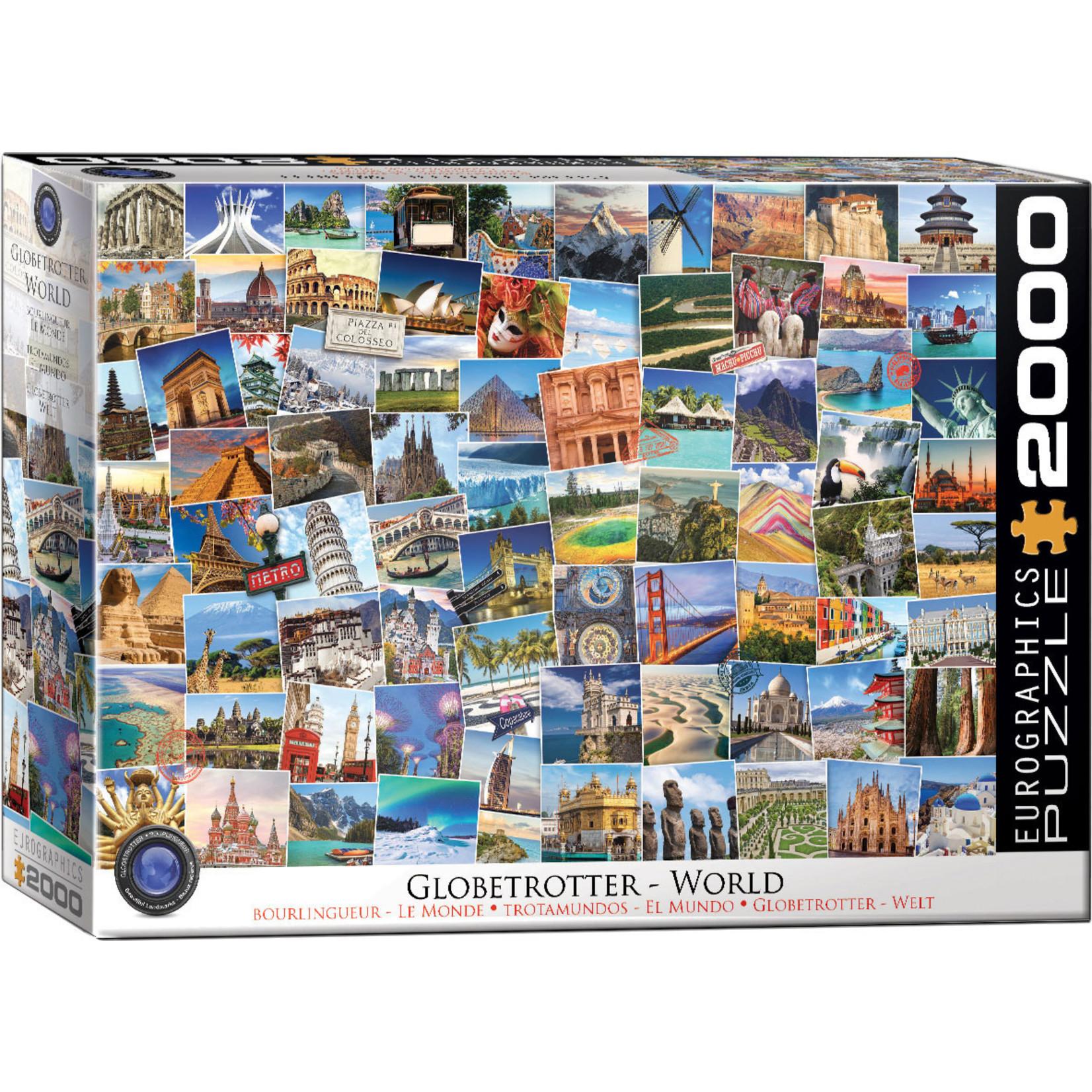EuroGraphics Puzzles World - Globetrotter 2000pc