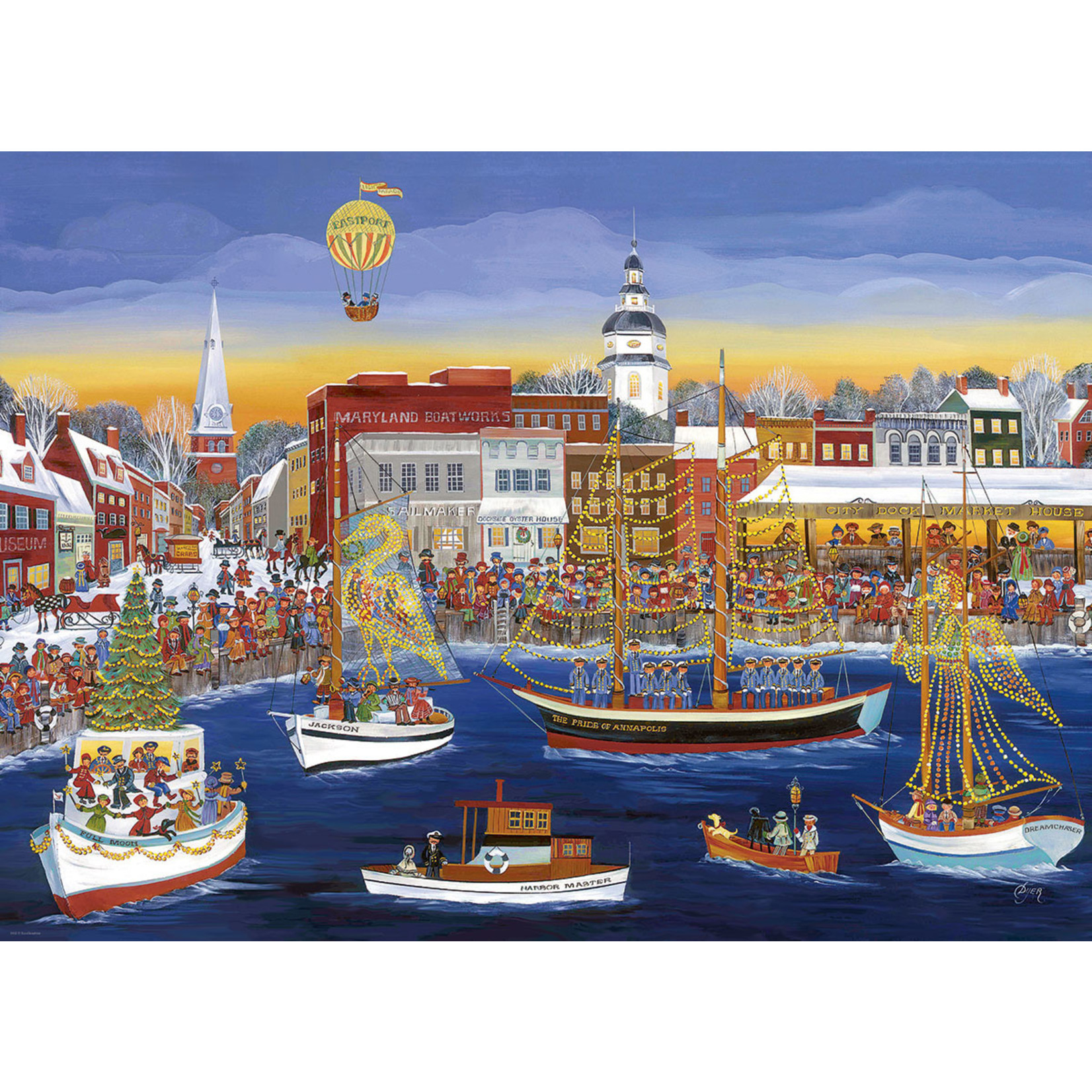EuroGraphics Puzzles Seaside Holiday - C. Dyer (300pc)