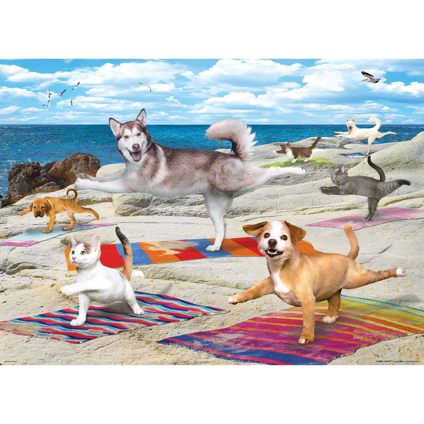 EuroGraphics Puzzles Yoga Beach 300pc