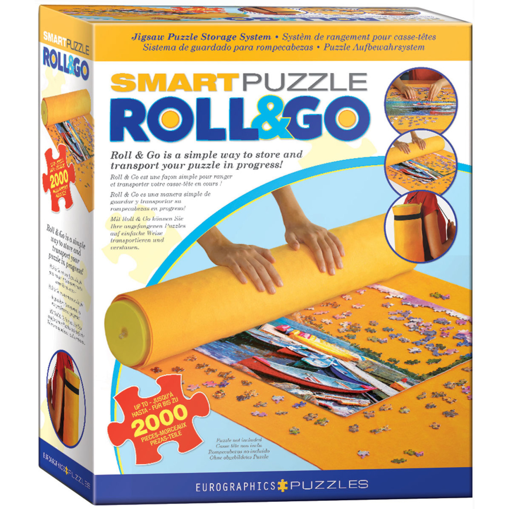 EuroGraphics Puzzles Smart Puzzle Roll & Go Mat