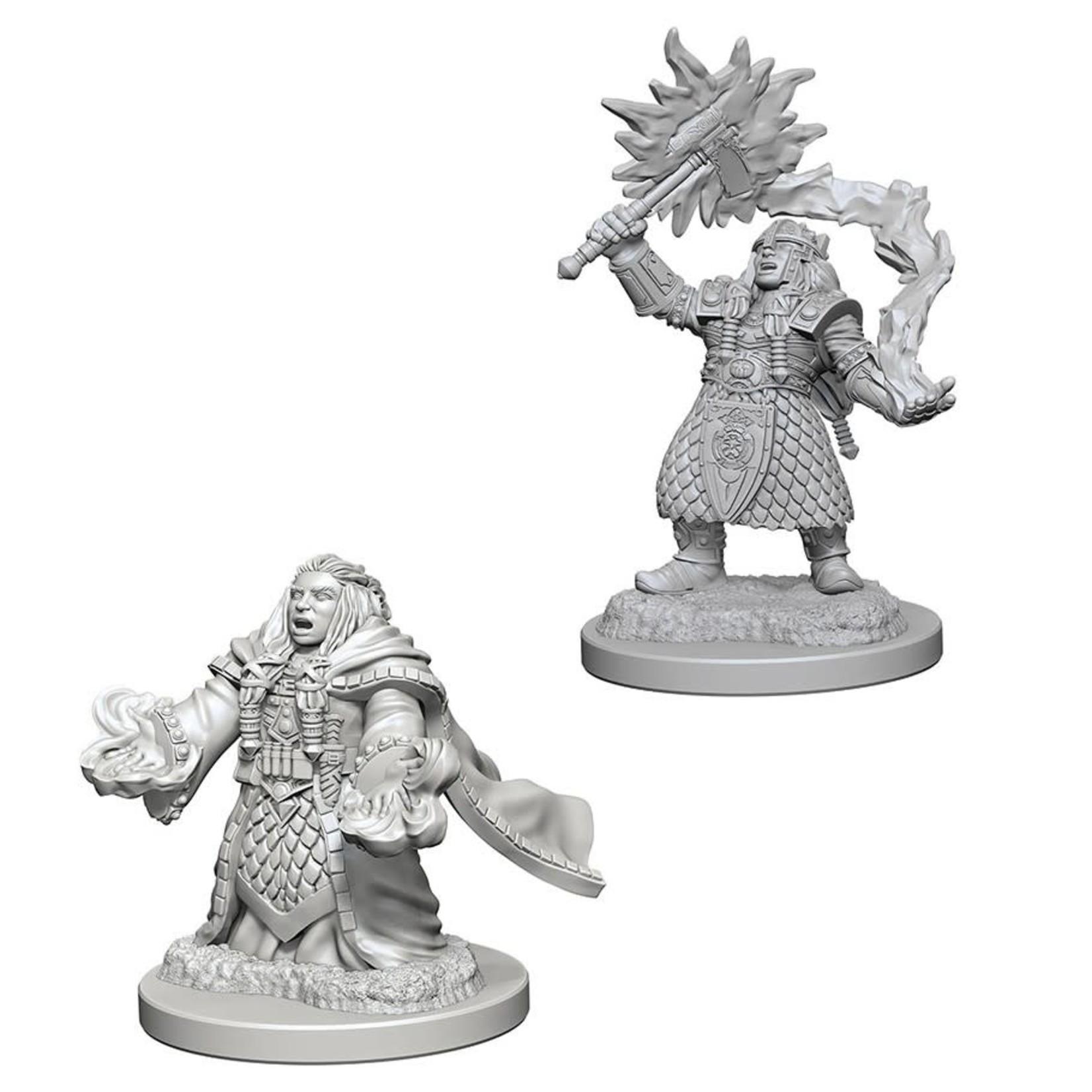 WizKids/Neca 72625 Nolzur's Dwarf Female Cleric