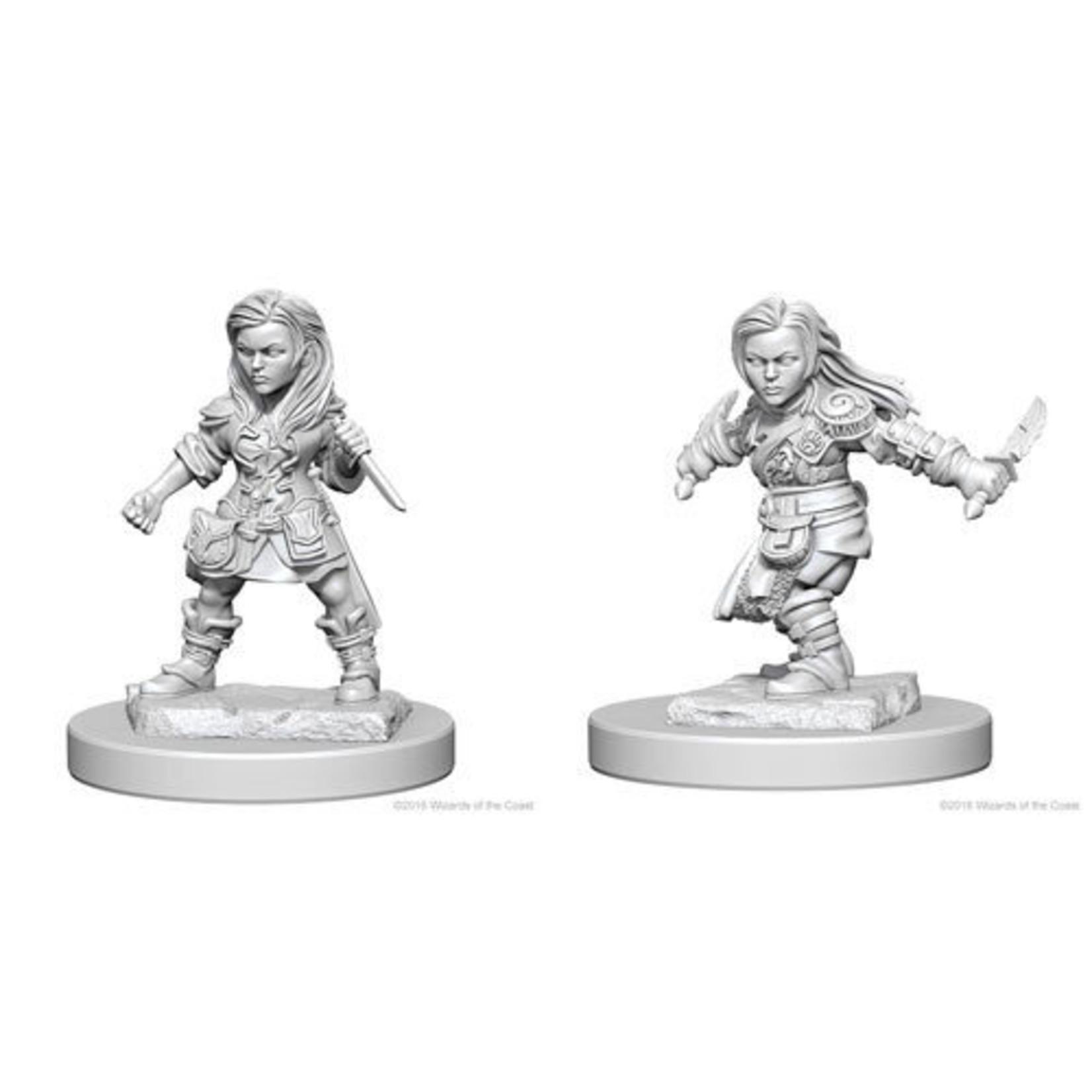 WizKids/Neca 72627 Nolzur's Halfling Female Rogue