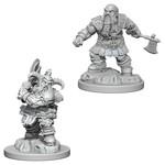 WizKids/Neca Nolzur's Male Dwarf Barbarian
