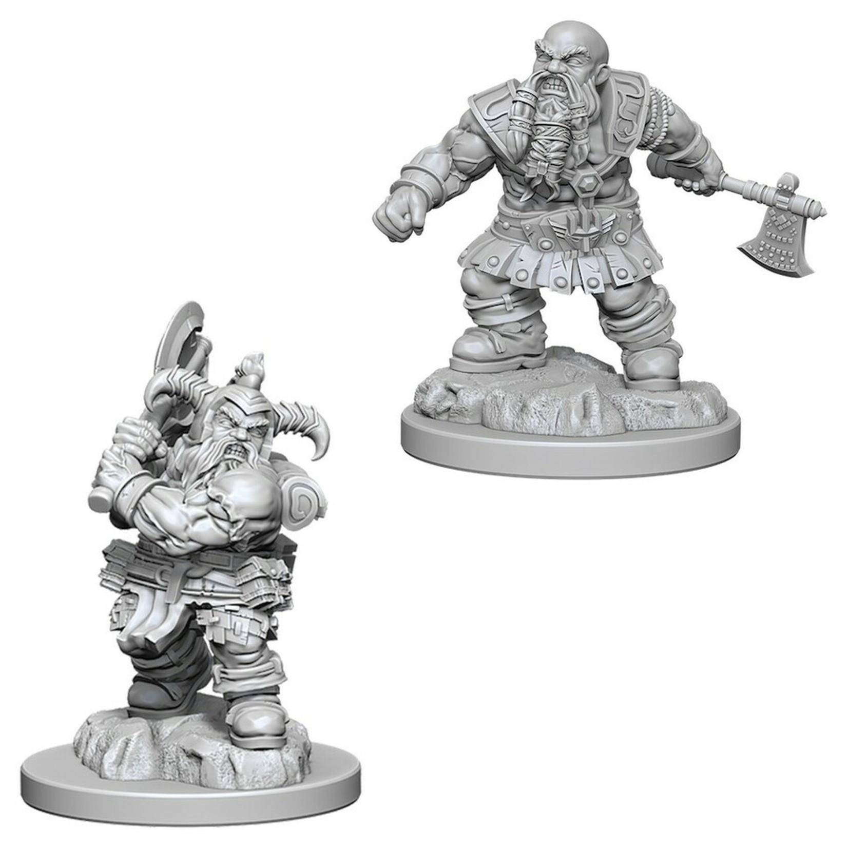 WizKids/Neca 73391 Nolzur's Male Dwarf Barbarian