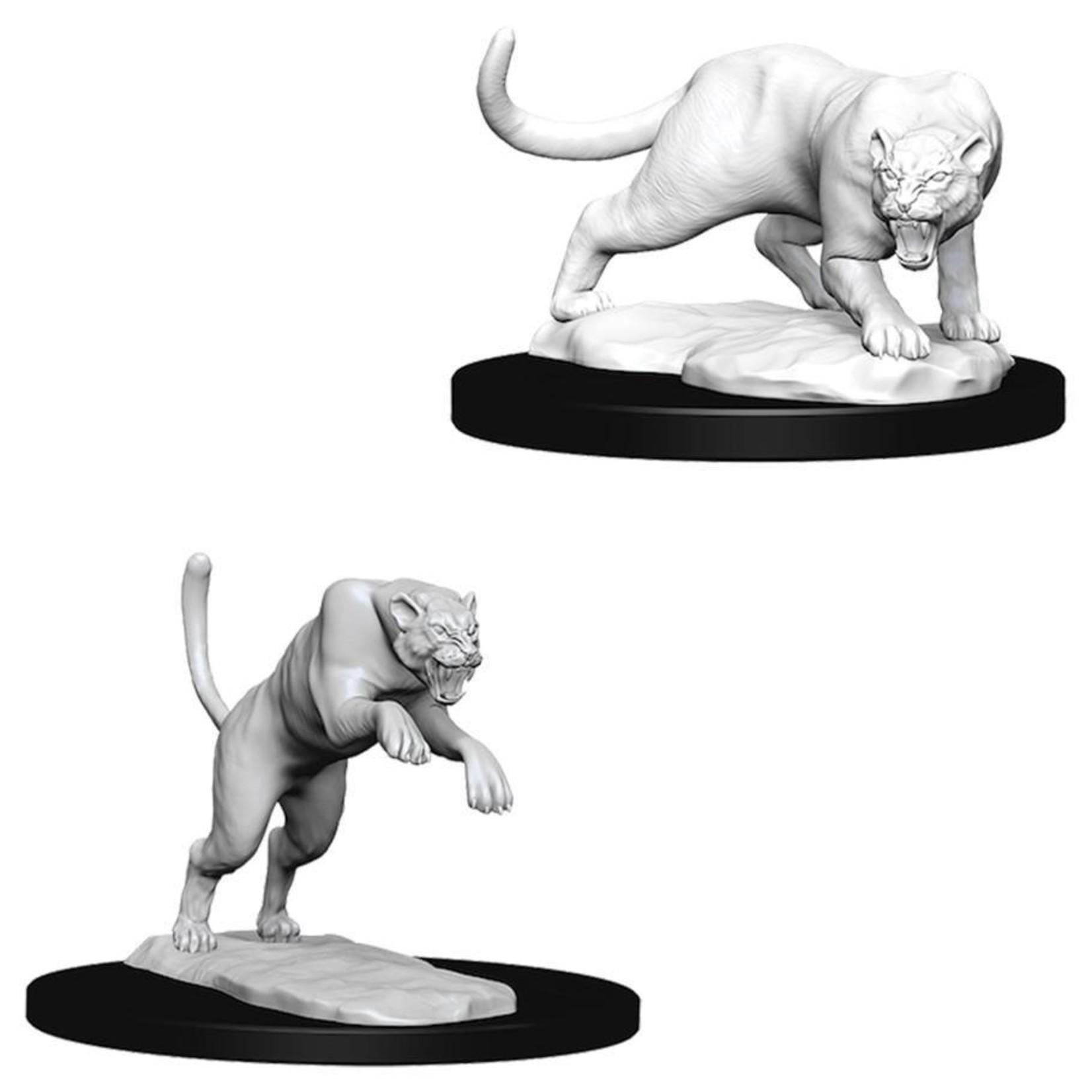 WizKids/Neca 73404 Nolzur's Panther & Leopard