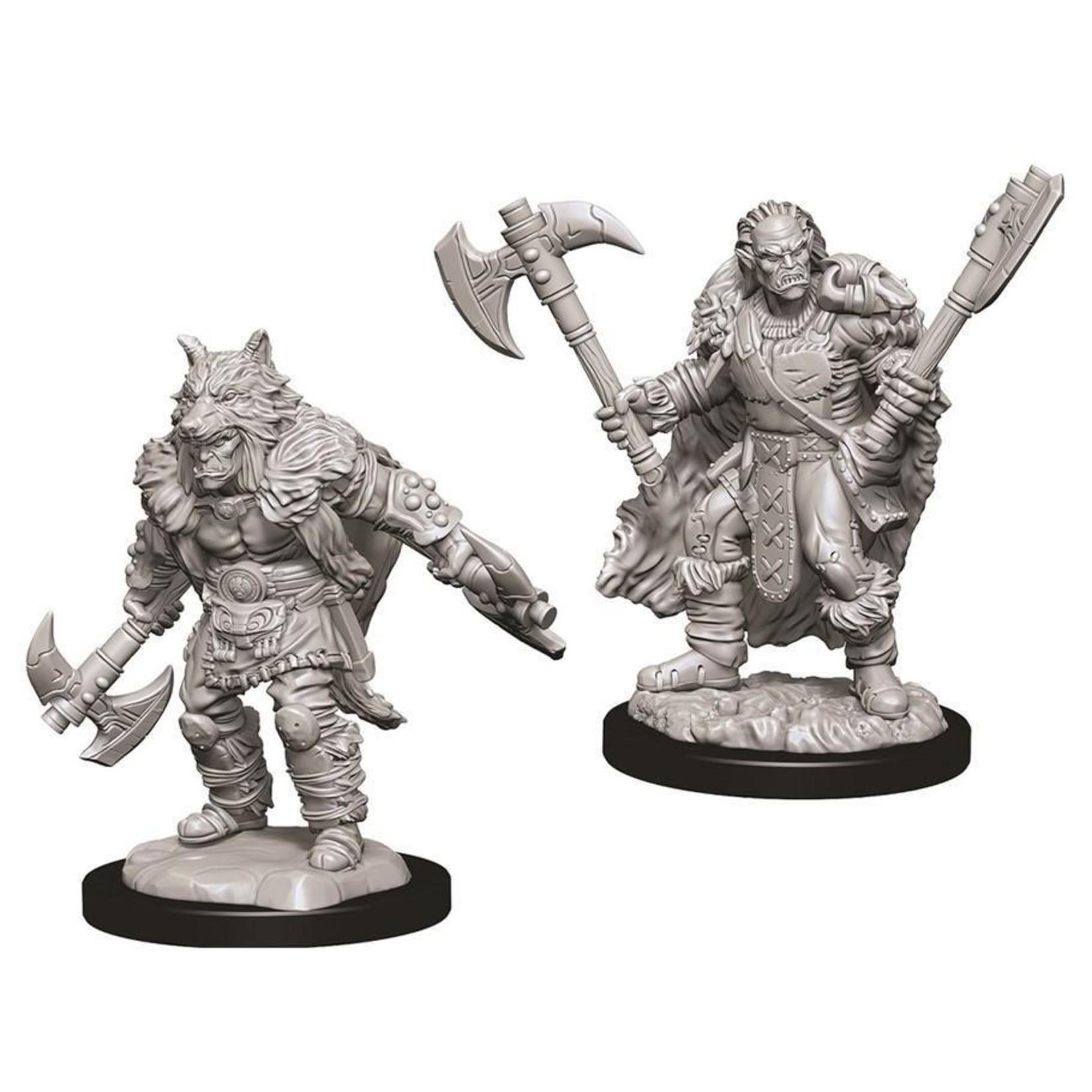 WizKids/Neca 73704 Nolzur's Male Half-Orc Barbarian