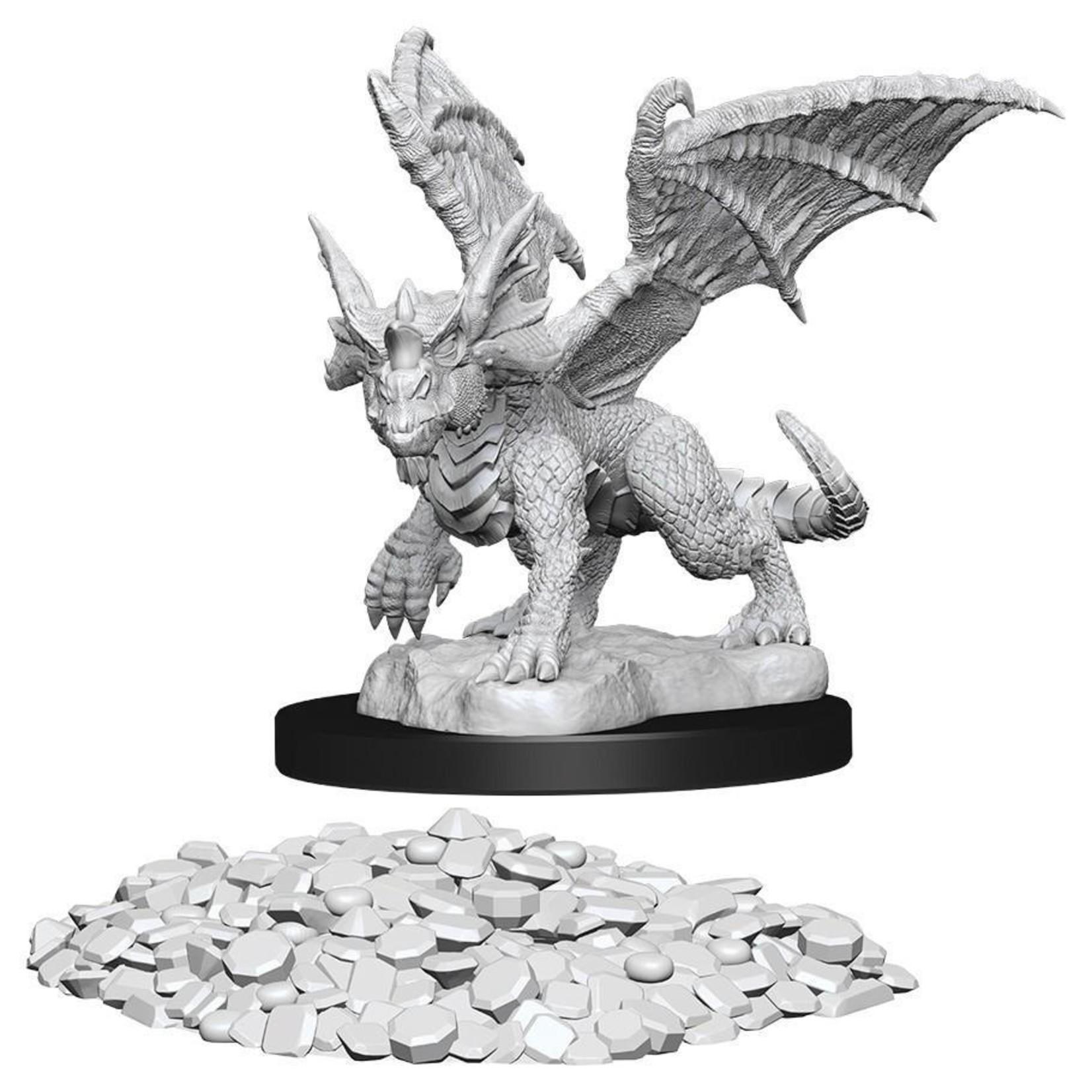 WizKids/Neca 73852 Nolzur's Blue Dragon Wyrmling