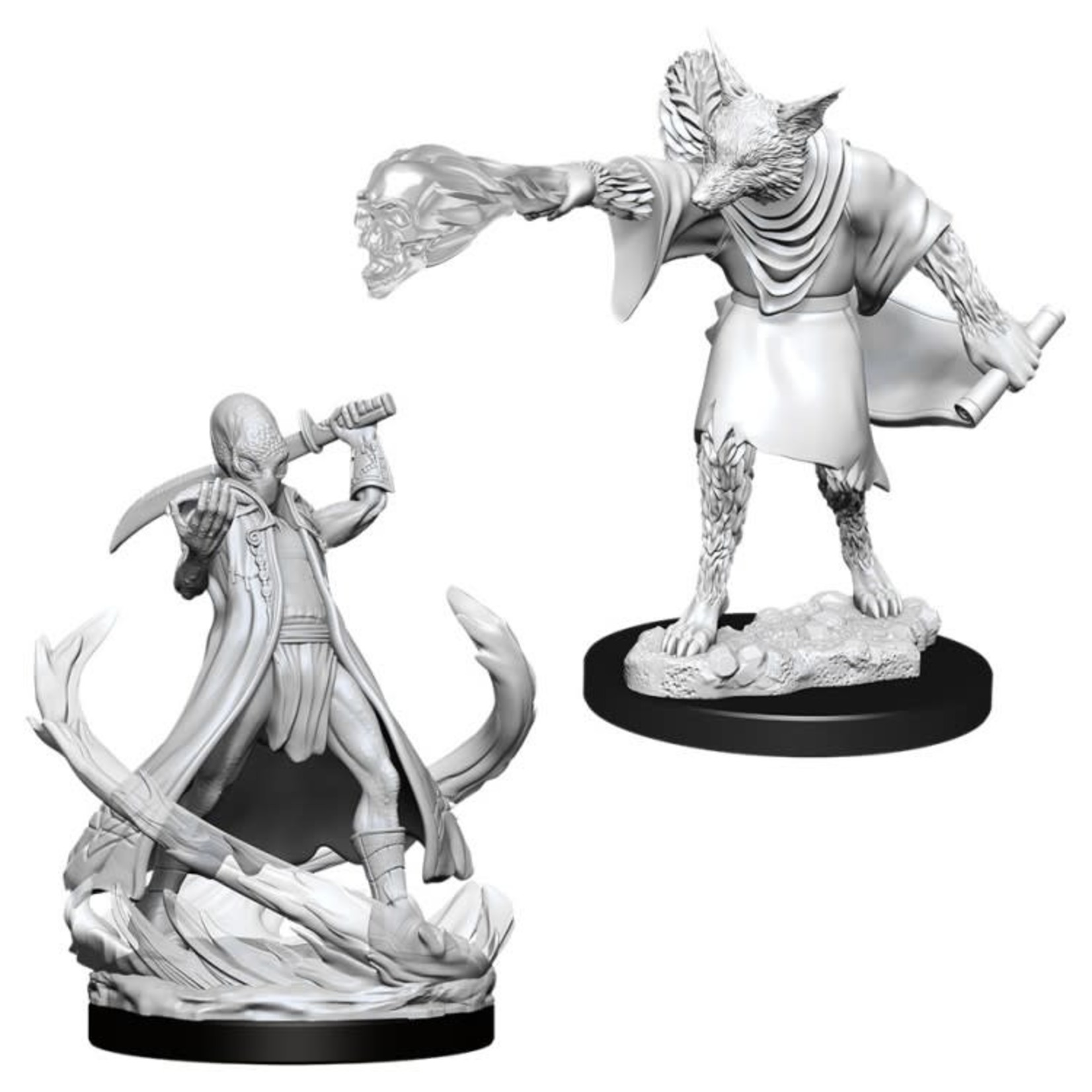 WizKids/Neca 90015 Nolzur's Arcanaloth & Ultroloth