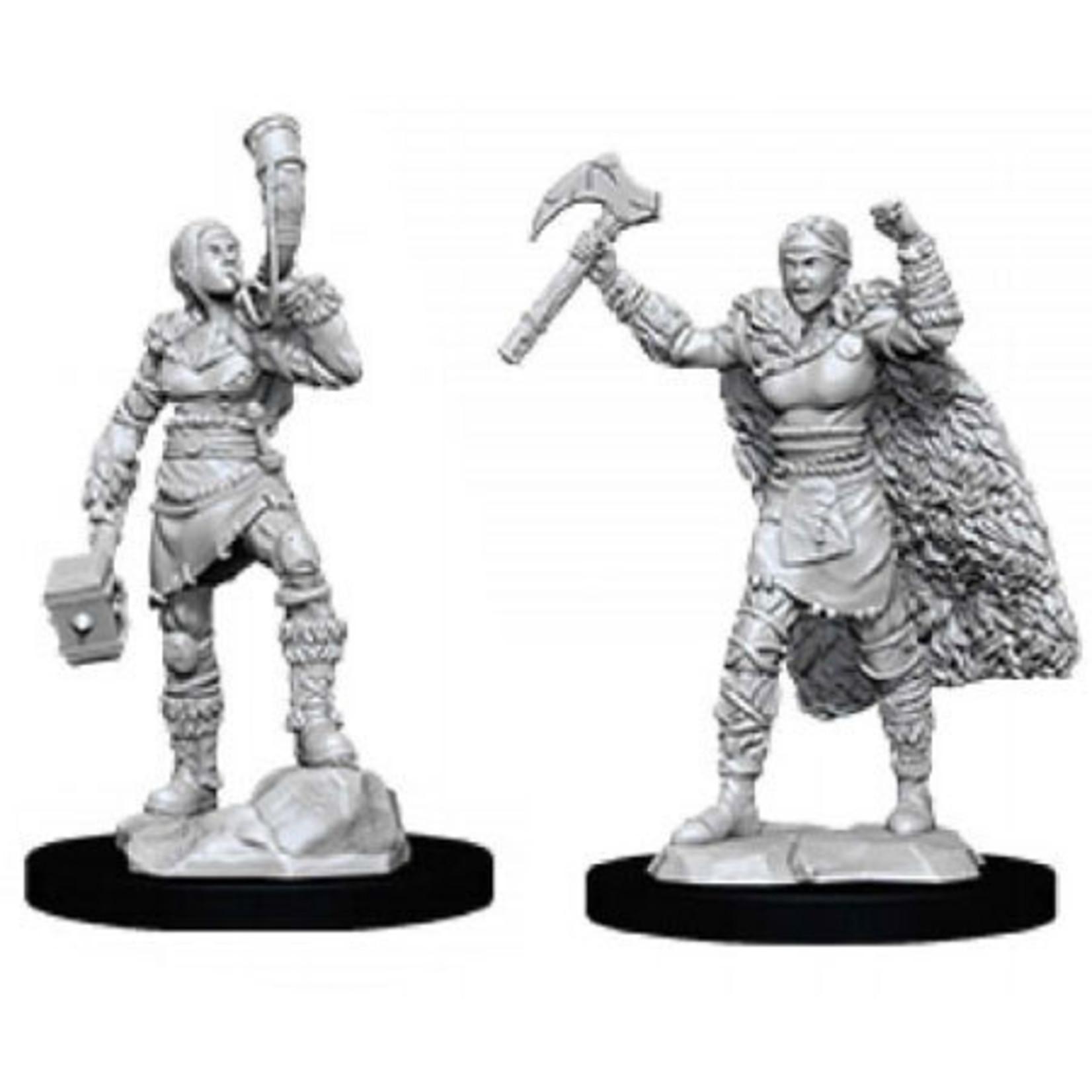 WizKids/Neca 90056 Nolzur's Female Human Barbarian