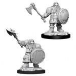WizKids/Neca Nolzur's Male Dwarf Fighter