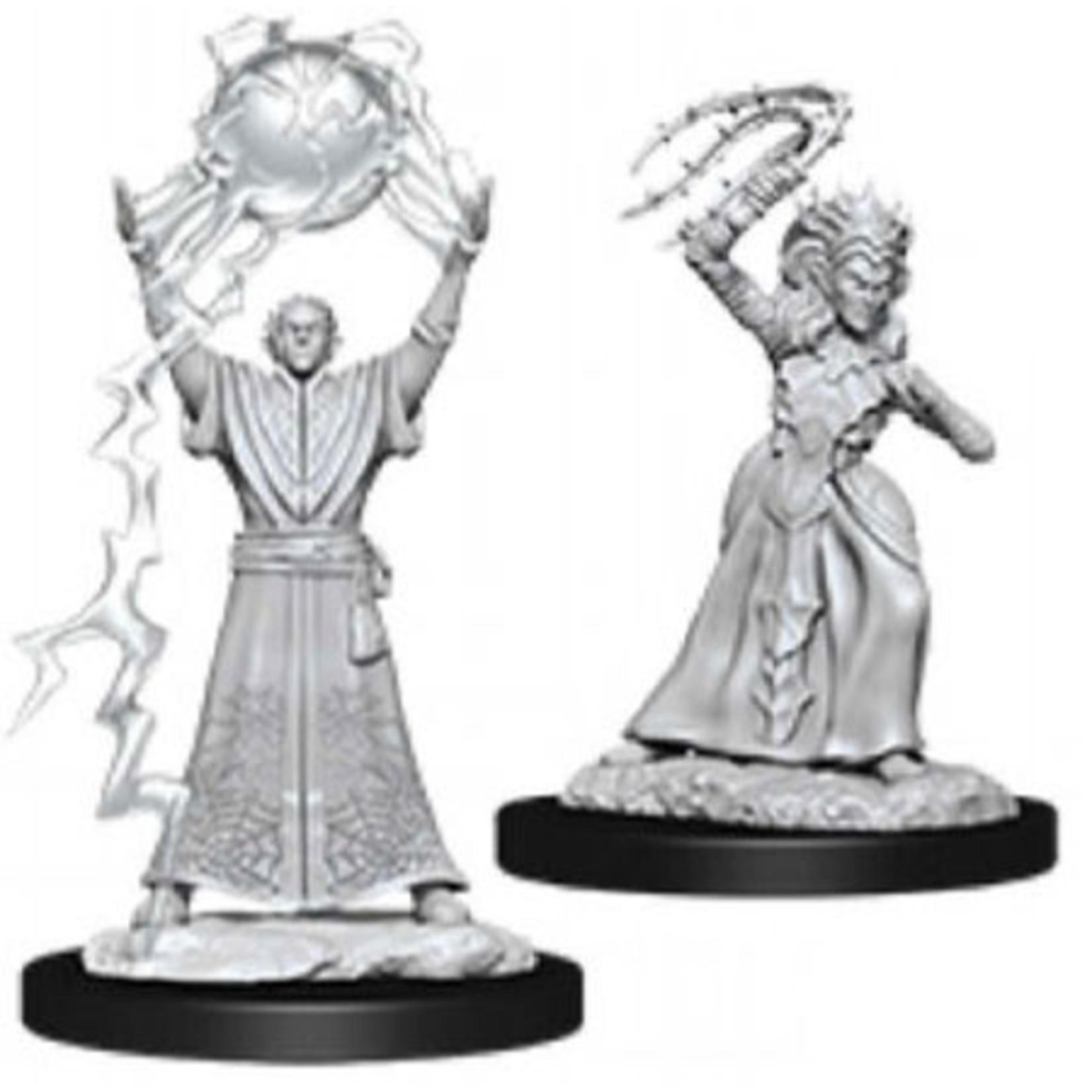 WizKids/Neca 90071 Nolzur's Drow Mage & Drow Priestess