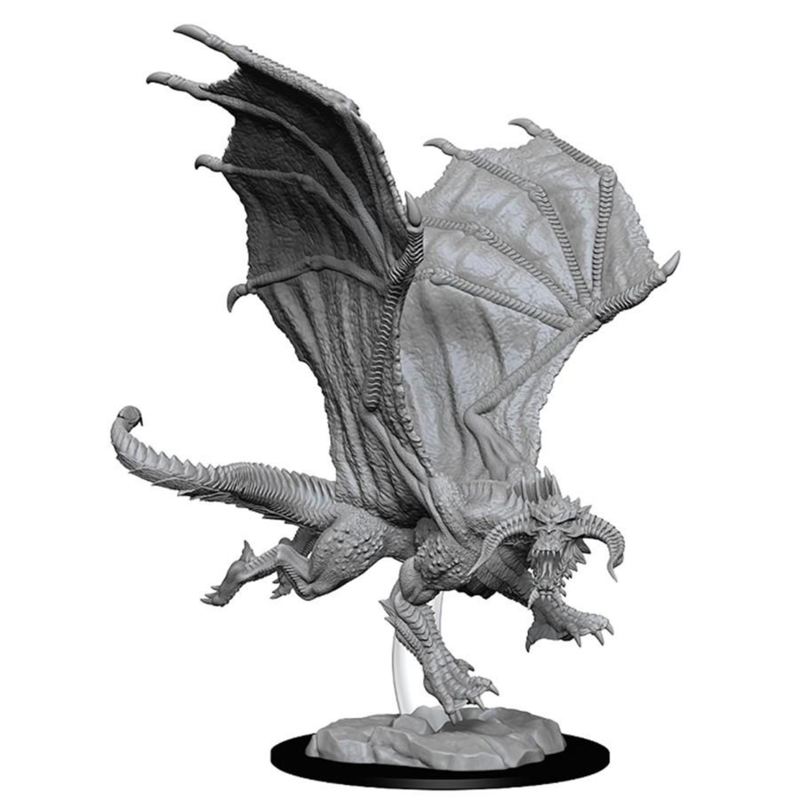 WizKids/Neca 73682 Nolzur's Young Black Dragon