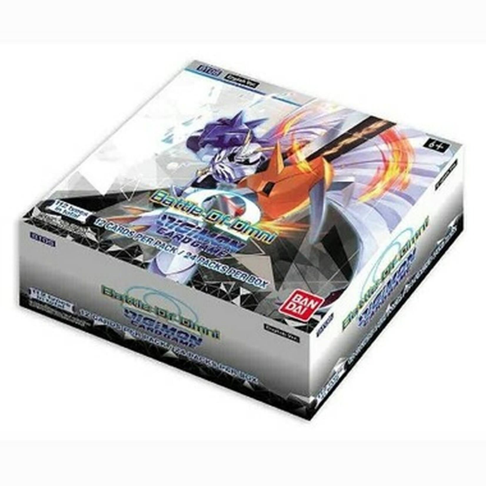 Bandai America, Inc. Digimon TCG: Battle of Omni Booster Display (24)