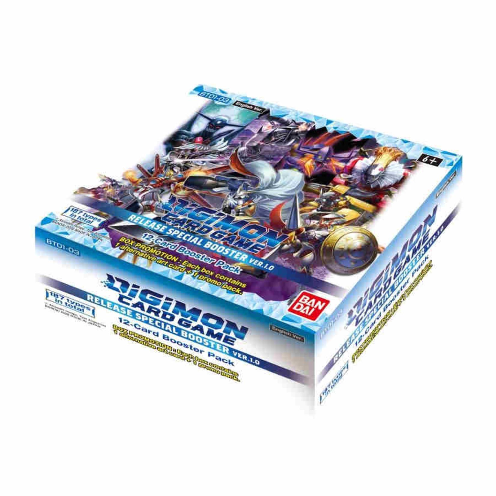 Bandai America, Inc. Digimon TGC: Ver. 1.5 Booster Display  (24)