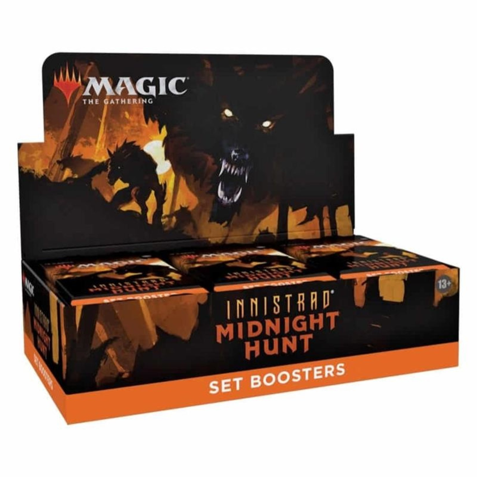 Wizards of the Coast Innistrad - Midnight Hunt Set Booster Display