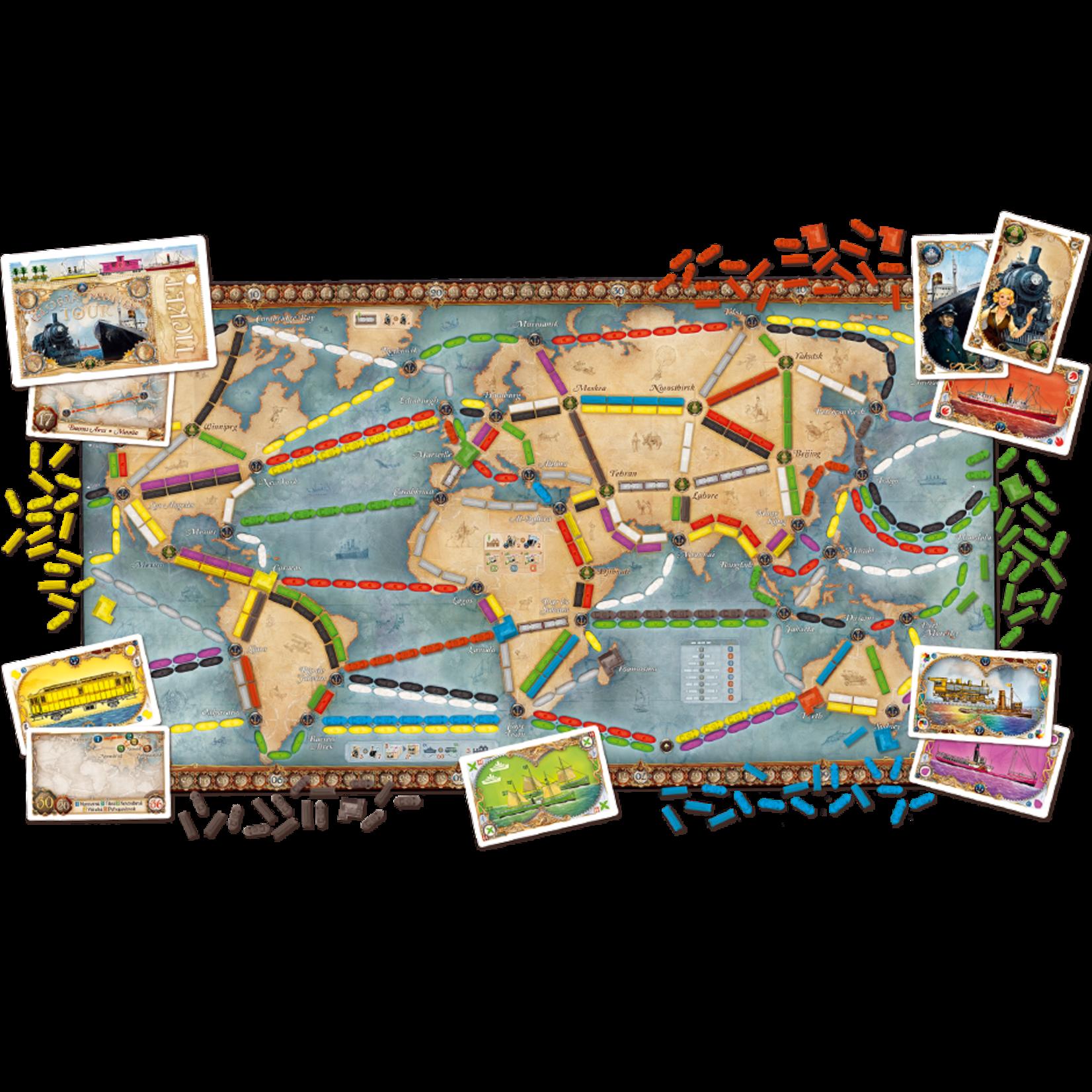 Days of Wonder Ticket to: Ride Rails & Sails