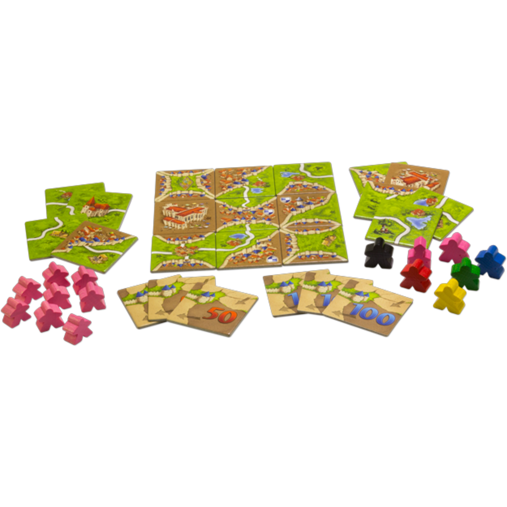 Z-Man Games Carcassonne Exp 01: Inns & Cathedrals