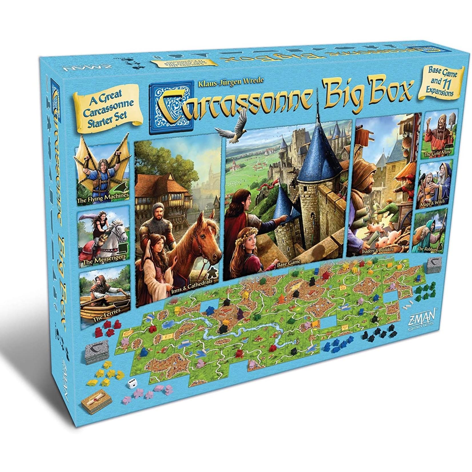 Z-Man Games Carcassonne: Big Box 2017