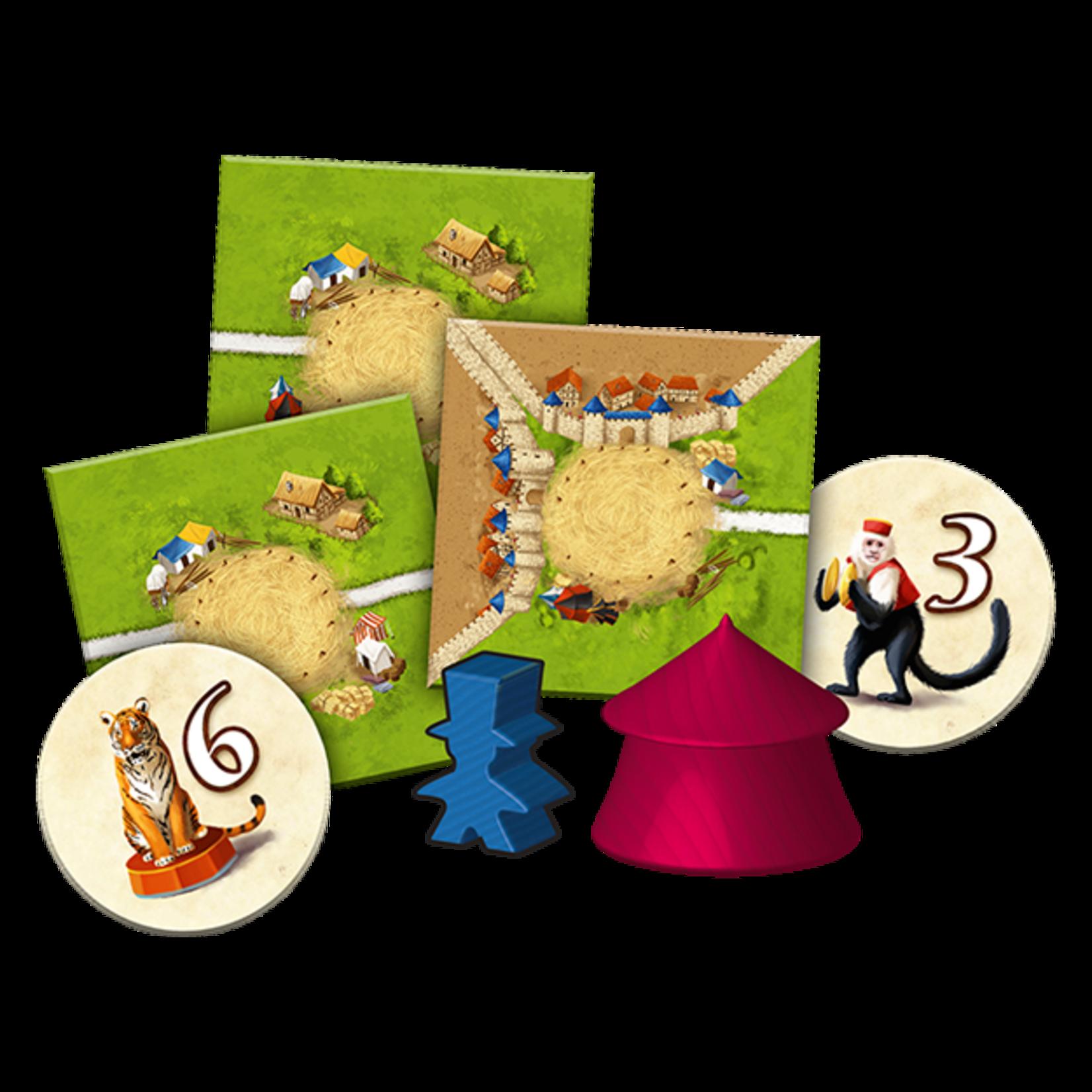 Z-Man Games Carcassonne: Under the Big Top