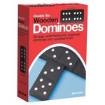 Jax Games Dominoes: Double Six Wooden Dominoes
