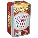 Pressman Toy Corporation Double Twelve Dominoes Tin
