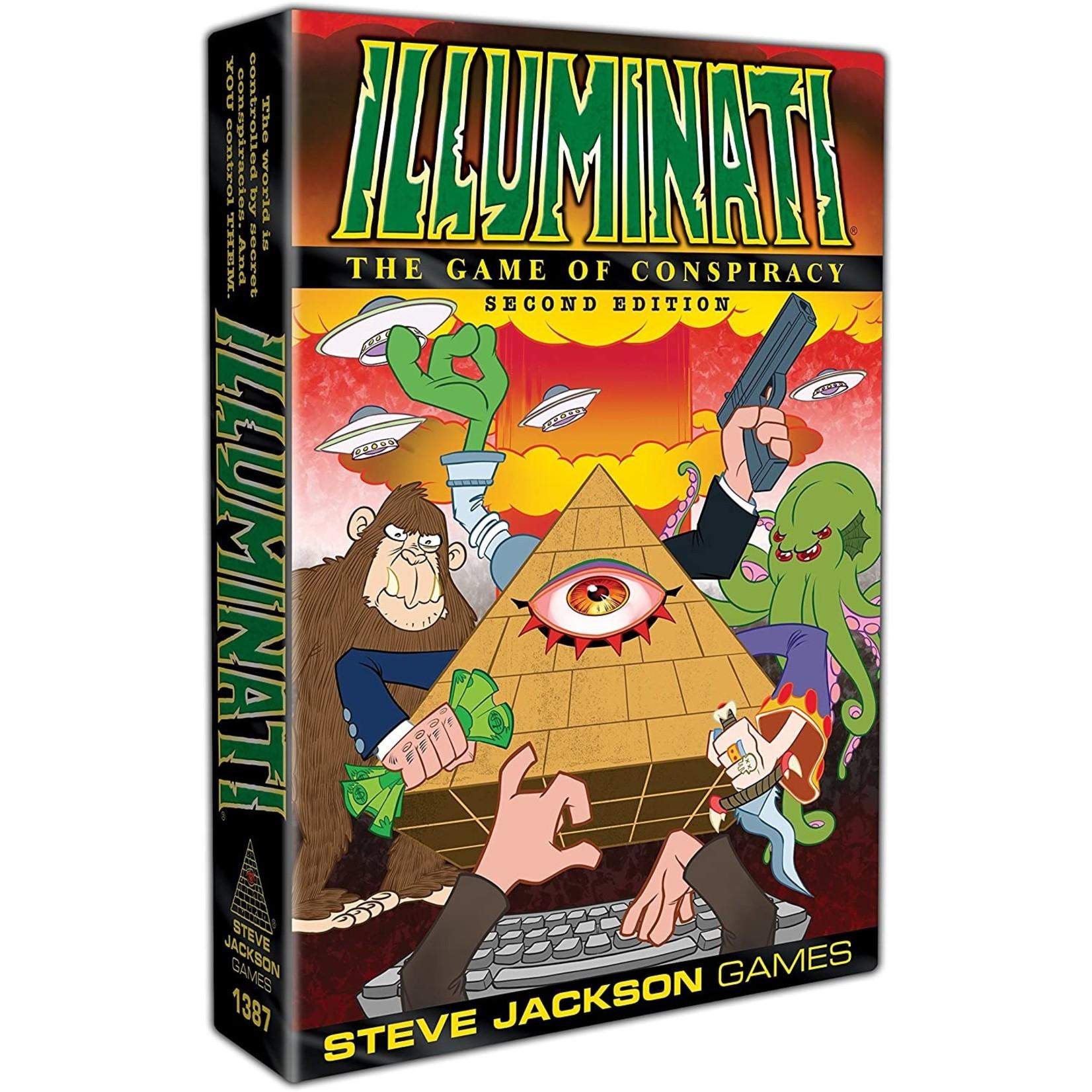 Steve Jackson Games Illuminati 2nd Ed.