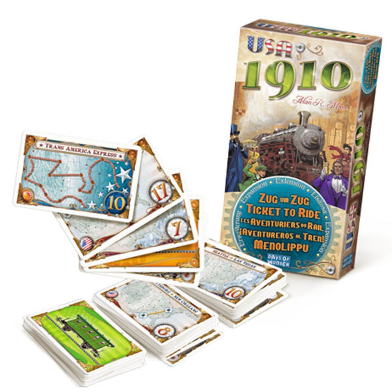 Days of Wonder Ticket to Ride: USA 1910 Expansion