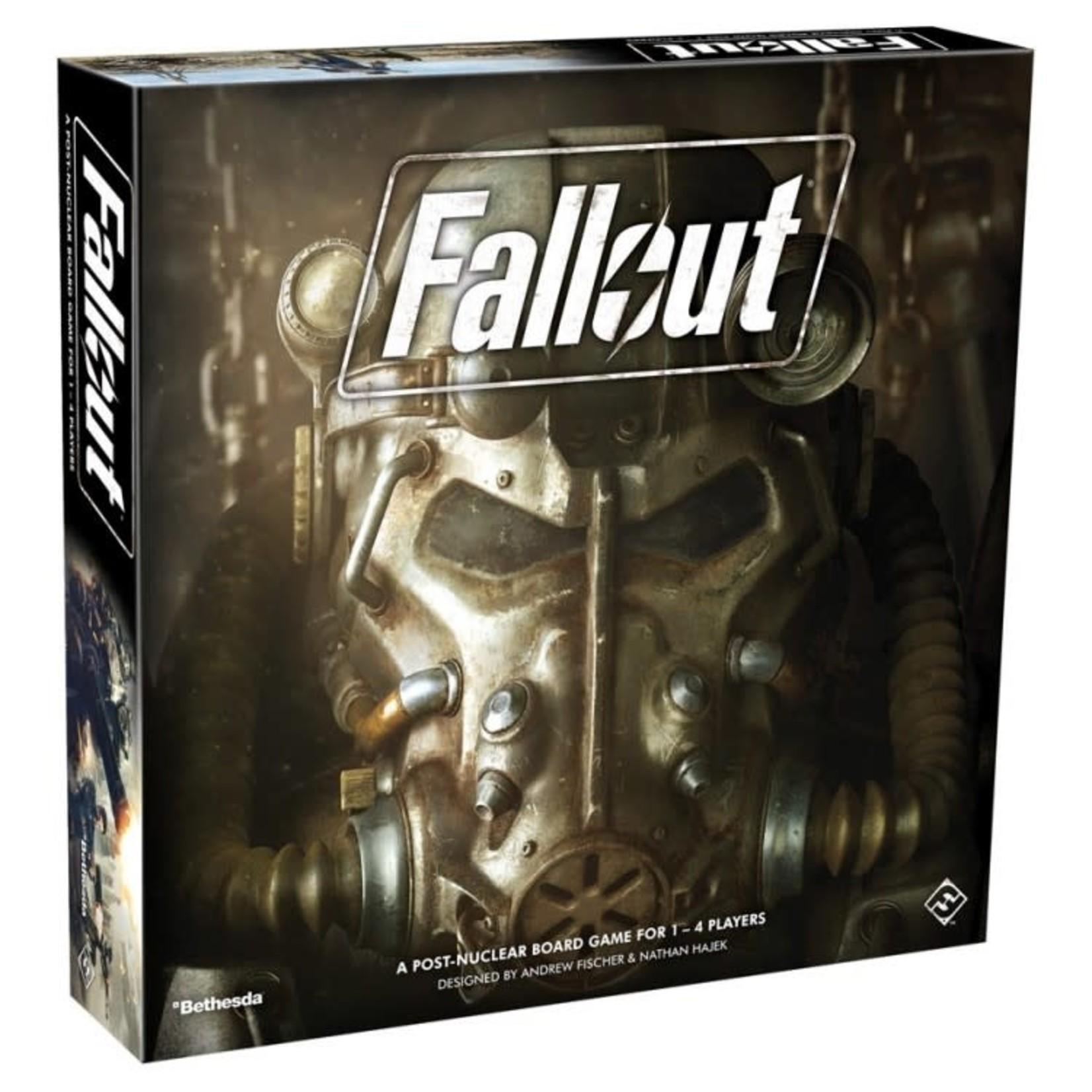 Fantasy Flight Fallout: The Board Game