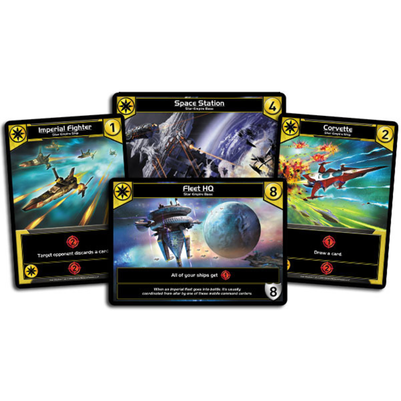 White Wizard Games, LLC Star Realms Deck Building Game